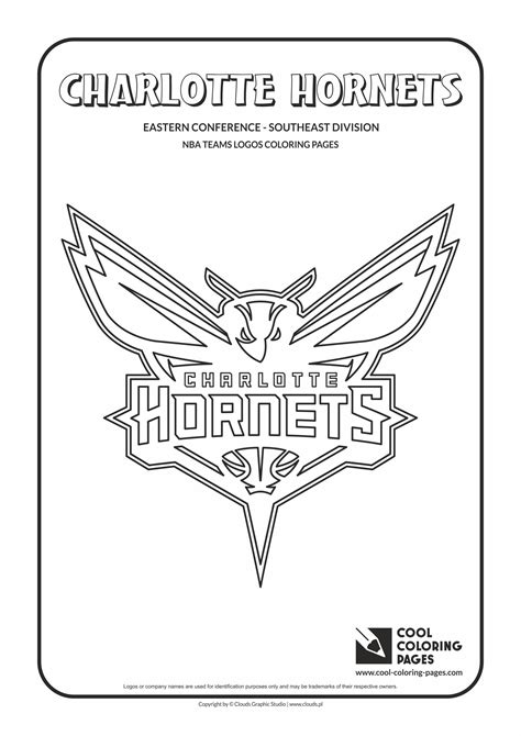 nba hornets coloring pages cool coloring pages nba teams logos coloring pages cool