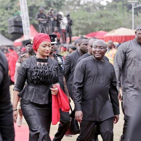 pics   asantehenes funeral samira bawumia