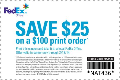 Fedex Office Coupon by Fedex Printing Coupon 2016 2017 Best Cars Review