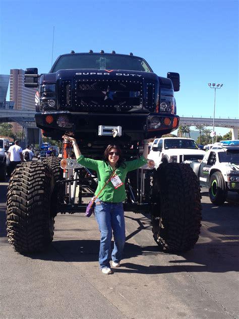 las vegas monster truck show ford f 350 lifted by sara custom cars sema show las