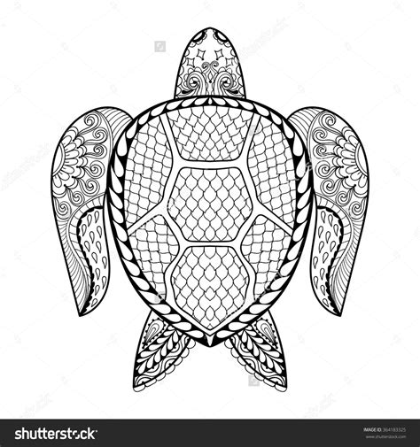 coloring pages for adults turtles adult coloring pages animals free archives page throughout