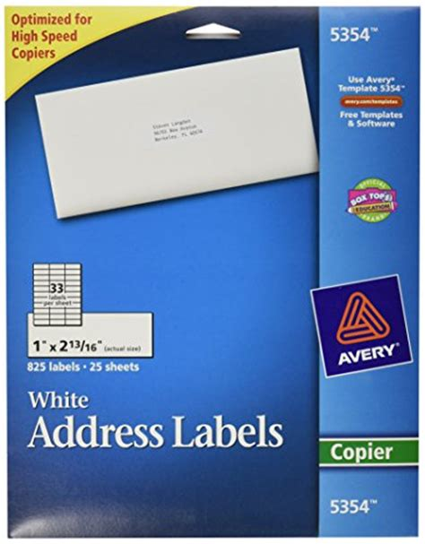 office depot address label template mailing label template page 8 shopping office depot