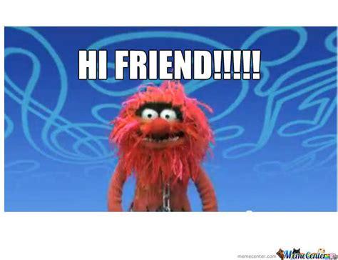 Hi Meme - hi friend by recyclebin meme center