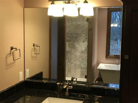 beveled bathroom vanity mirror vanity mirrors a d glass mirror