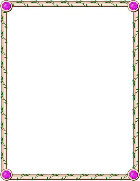 Apple Borders And Frames Clipart Clipart Suggest Border Free Clip