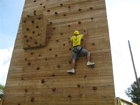 Backyard Climbing Walls by Outdoor Climbing Wall