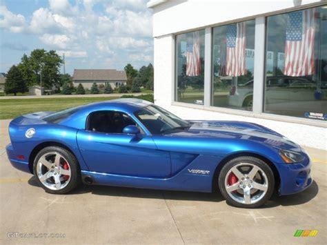 dodge viper blue viper gts blue 2006 dodge viper srt 10 coupe exterior