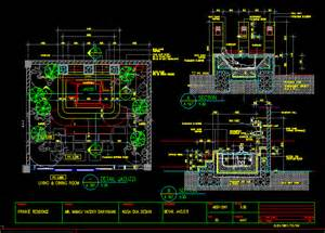 Bathtub Section Dwg Detail Jacuzzi In Autocad Drawing Bibliocad
