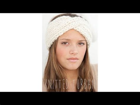 tutorial twisted turban knitting tutorial anthropologie headband phim video clip