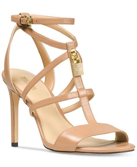 michael kors sandals macys michael michael kors antoinette dress sandals sandals