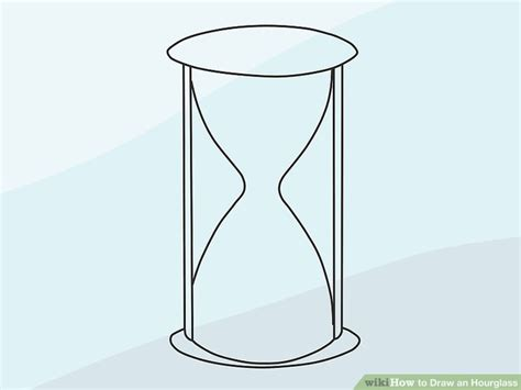 Drawing 8 Hours A Day by How To Draw An Hourglass 15 Steps With Pictures Wikihow