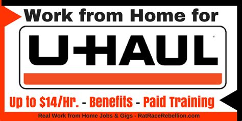 work from home at u haul open now real work from