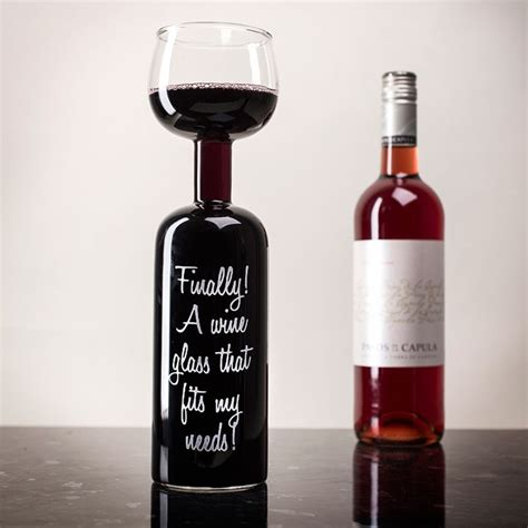 Cylinder Wine Glass Finally A Wine Glass That Fits My Needs Wine Bottle