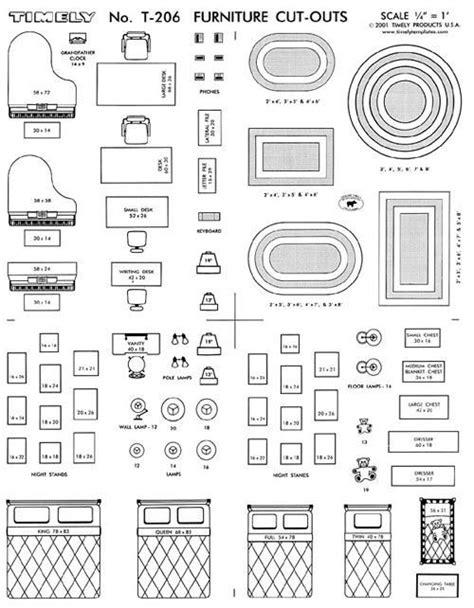 interior design layout kit furniture arranging kit 1 4 scale interior design