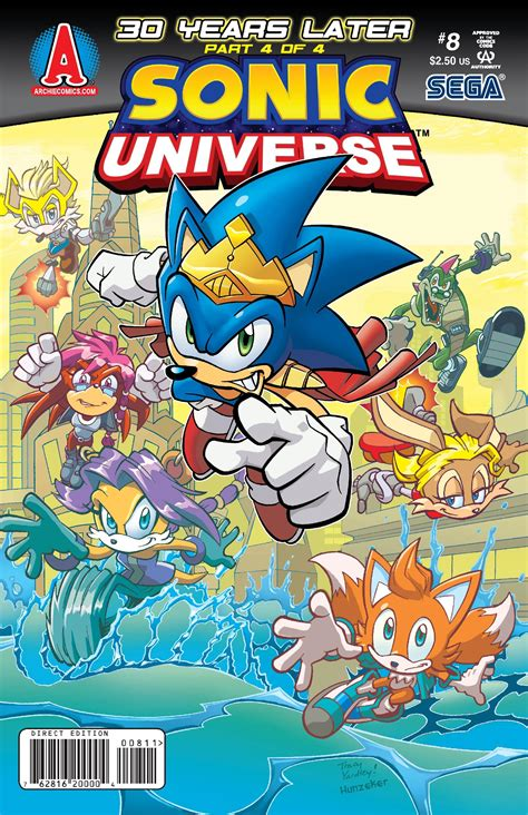 archie sonic universe issue  sonic news network fandom powered  wikia