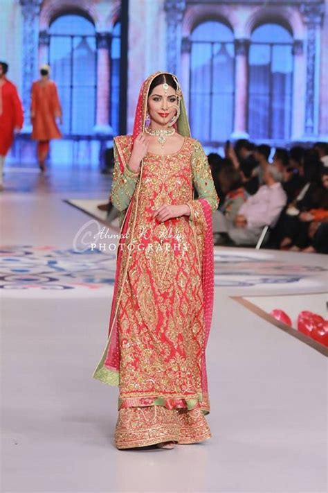 nomi ansari collection  pantene bridal couture week