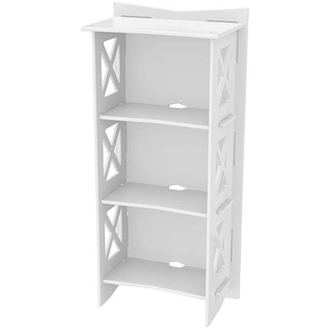 legare cottage bookcase white walmart