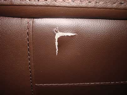 fix tear in leather sofa how to repair tear in leather