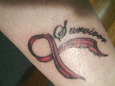 survivor tattoo symbol cancer images designs