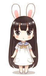 anime gif arigatou gif chibi anime kawaii bunny anime anime gif