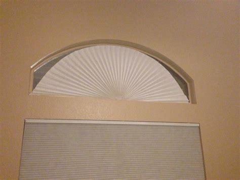 curtains for half round windows half circle window curtain or blind ideas