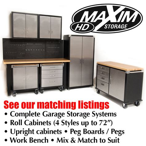 roll top storage cabinet shop for maxim hd 2 door timber top roll cabinet garage