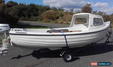 used boats for sale in ireland fishing boat 16ft sea king built by darragh boats ireland