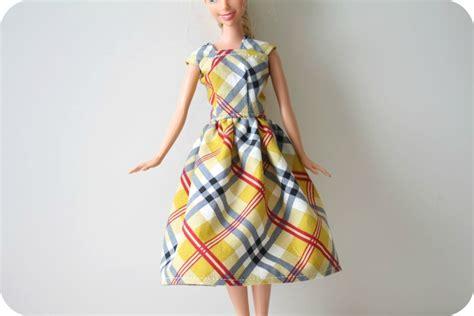 clothes pattern making tutorial barbie 174 dress tutorial