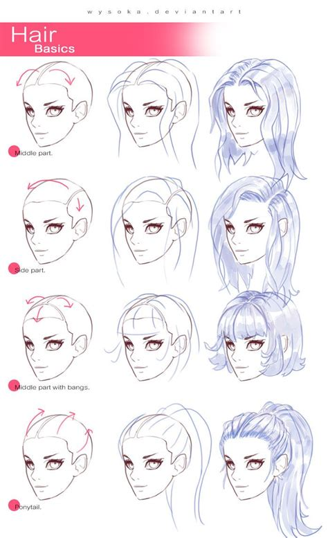 Drawing U N O by Best 20 Drawing Hair Tutorial Ideas On