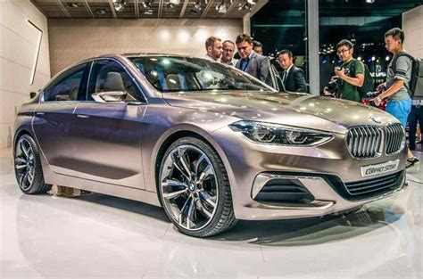 2019 Bmw 1 Series Sedan by 2018 2019 Bmw Compact Sedan Concept Sedan Prototype 2018