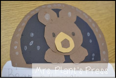 hibernation crafts for the mitten primary press