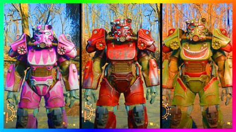 fallout 4 ultimate power armor paint colors locations guide fallout 4