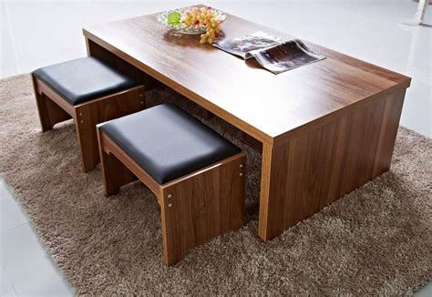 Table With Stools by Coffee Table With Stools And Storage Coffee Table Design