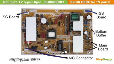 Power Supply Samsung La32a450c1spare Part Tv plasma tv repair panasonic lsep1279unhb power supply unit
