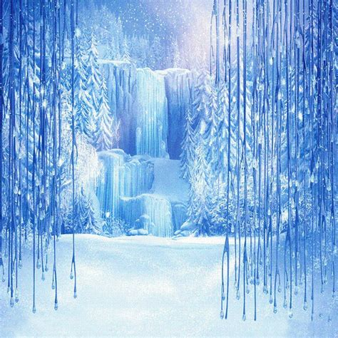 plan b icy shop background material online frozen icy waterfalls