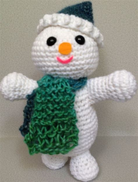 how to knit a snowman pattern snowman with knitted scarf pattern persons