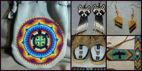native american bead work and indian beadwork beads