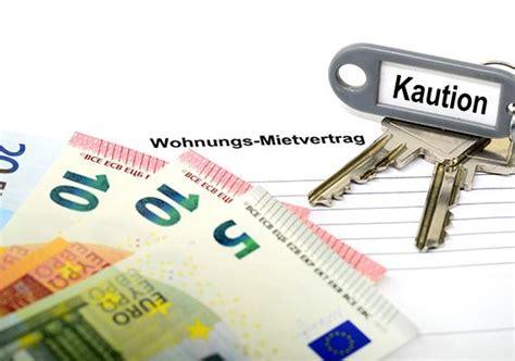 kaution über bank vorteile der mietkautionsversicherung