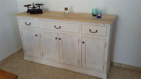 conjunto de mueble comedor  mueble tv madera pino efecto