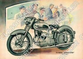 Victoria Motorrad Bilder by Classicseller Anleitungen Handb 252 Cher Und Poster F 252 R