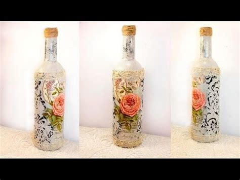 tutorial decoupage botol 31 decoupage lesson diy decoupage bottles shabby chic