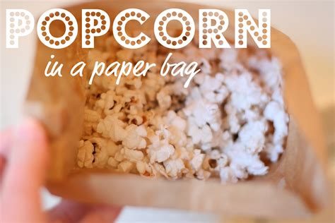 Popcorn In A Paper Bag In The Microwave - 301 moved permanently