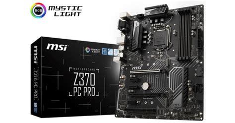 msi   pro intel  atx motherboard   pro