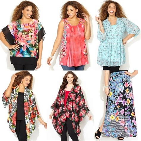 Plus Size Floral Dresses Spring Summer 2015
