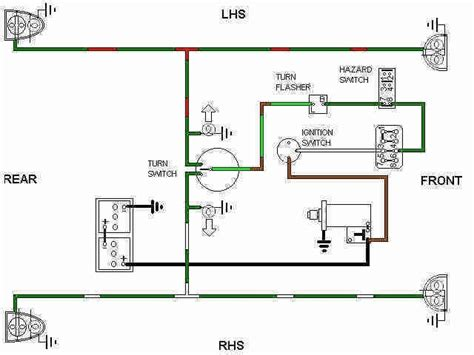 turn signal flasher wiring schematic circuit and