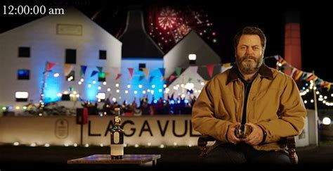 nick offerman drinking whiskey nick offerman once again does the hard job of drinking