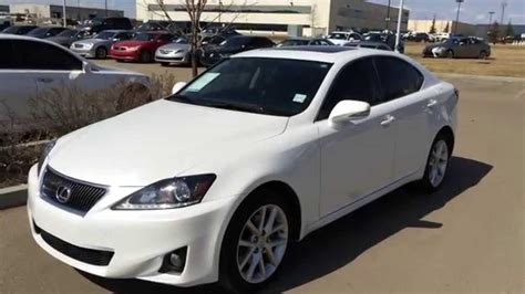 white lexus is 250 lexus certified pre owned white 2012 is 250 awd leather