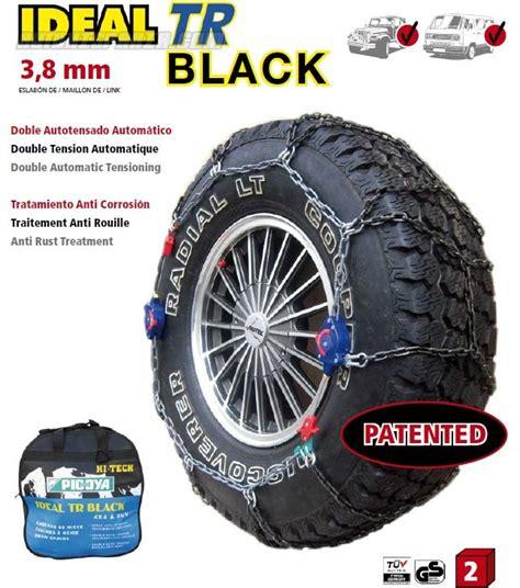 cadenas nieve picoya comprar juego cadenas nieve ideal tr black 3 8mm doble