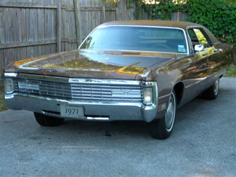 chrysler imperial original leather good condition