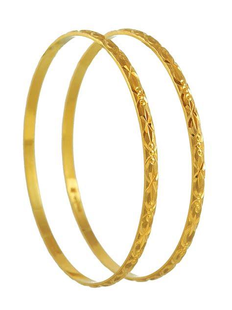 22kt gold handmade bangles bago3971 22kt gold bangles
